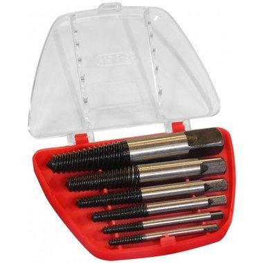 Screw extractor set 6 pcs