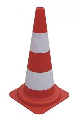 Traffic cone pe 2 tires x10 pieces