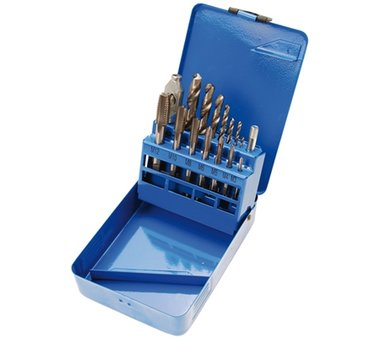 Thread cutting/HSS Drill Set | M3 - M12 / 2.5 - 10.2 mm