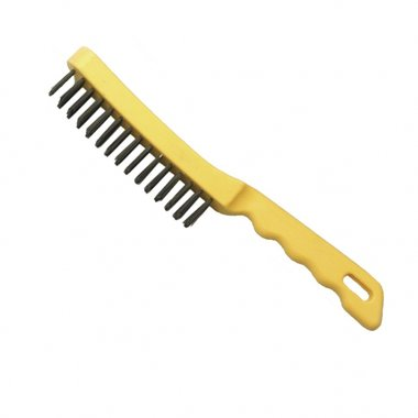 4 rows steel wire handbrush 0,10kg