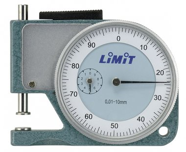 Analog thickness gauge 10 mm bag model