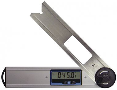 Digital Gauge with spirit level