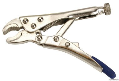 Locking Pliers extra short 100 mm