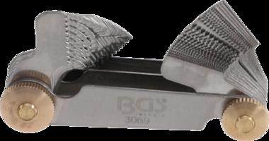 Twin Screwpitch Gauge, 52 Blades metric 0.25 - 6.0 mm, Whitworth 4G - 62G