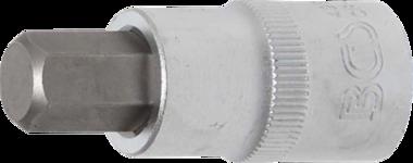 Bit Socket 12.5 mm (1/2) internal Hexagon 12 mm