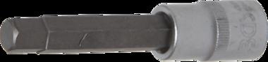 Bit Socket | length 100 mm | 12.5 mm (1/2) drive | internal Hexagon 11 mm