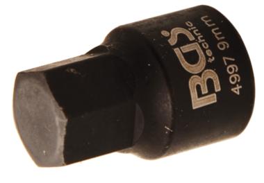 Brake Calliper Socket | internal Hexagon | extra short | 8 mm