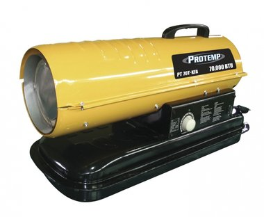 Diesel air heater 385 m³