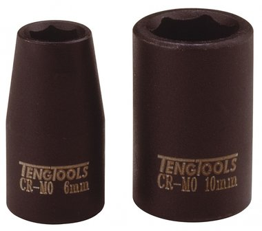 Slagdop 1/4 kort 6mm