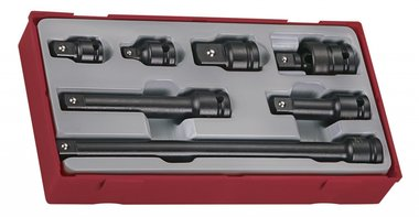 Set access. Impact sockets 1/2 tc-tray 7pcs