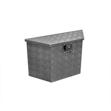 Trailer tool box aluminium 700/380 x 240 x H420mm