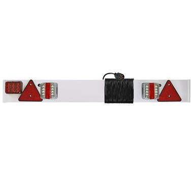 Trailerboard LED with LED foglight + 6M cable