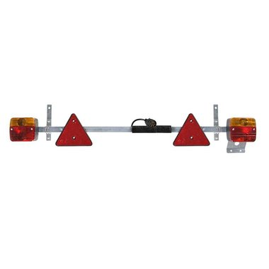 Trailerboard metal 110-160cm telescopic + 7,5M cable