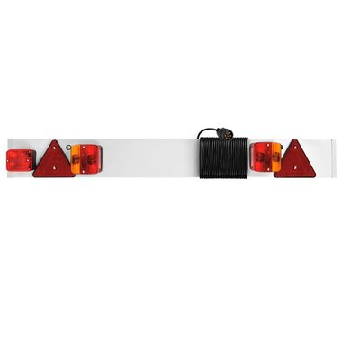 Trailerboard with foglight + 9M cable
