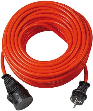 BREMAXX IP44 extension cable 25m orange