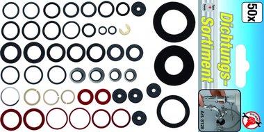 50-piece O-Ring Assortment
