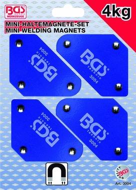 4-piece Mini-Magnetic Holder Set, 45°-90°-135°