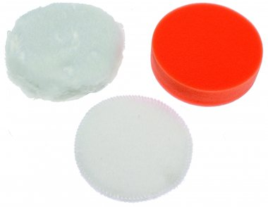 3-piece Polishing Pad Set, 100 mm for BGS 9259