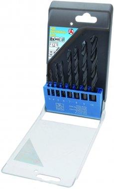 8-piece HSS Drill Set, 3 - 10 mm