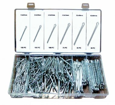 Cotter Pin Assortment 555pc