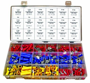 Automotive Crimping Terminal Assortment 280pc