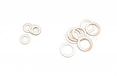 Copper Washer Assortment 150pc