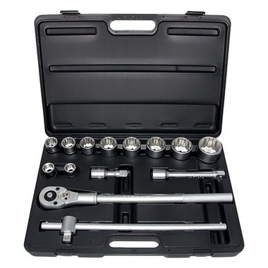 3/4 Socket set 12-piece side 14