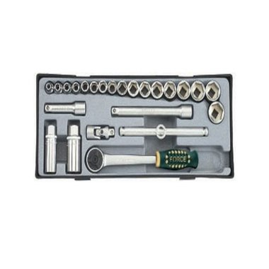 24pc 3/8 Surface Drive Socket Set