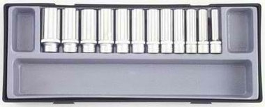 3/8 Deep socket set 12pc