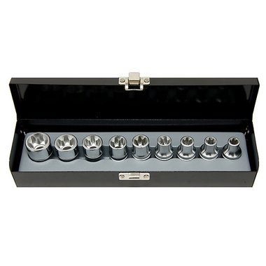 1/2 Star socket set 9pc