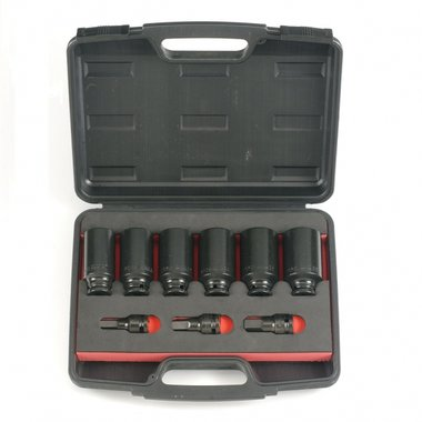 Drive Shaft Socket Wrench Set 9pc
