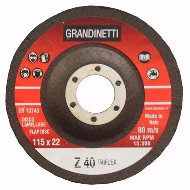 Flap disc P40 115MM