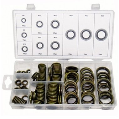 Bonded Seal Assortment 150pc