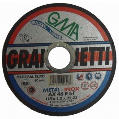 Grandinetti Cutting Discs 75x1x10 mm