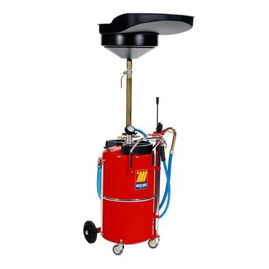 Air-operated oil suction-drainer 90 liter