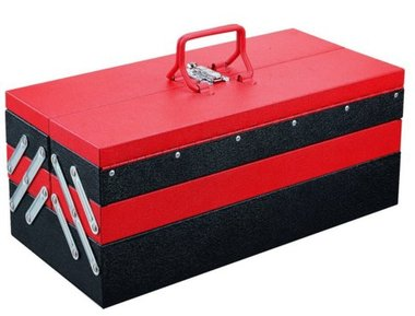 Cantilever Tool Box with 5 trays