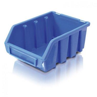 Blue warehouse bin size 4