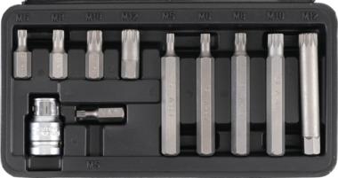 11-piece Spline Bit Set