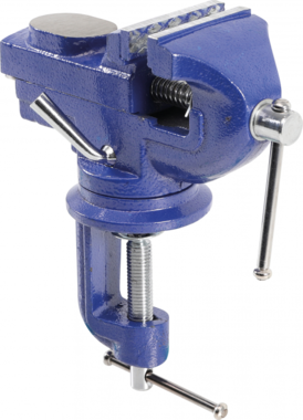 Parallel Clamp Vice, incl. Anvil, 60 mm Jaw