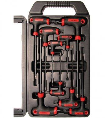 9-piece T-Handle Key Set for T-STAR Screws