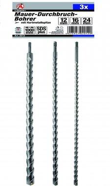 3-piece SDS Drill Set