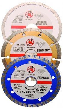 3-piece Diamond Disc Set