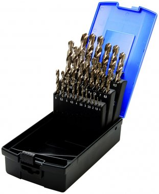 26-piece HSS Twist Drill Set, 1-13 mm