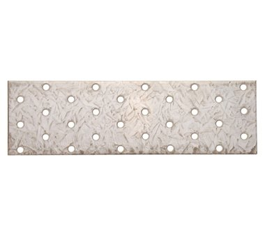Steel Plate with Holes, 200 x 60 mm