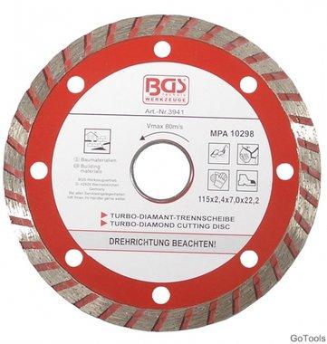 Turbo Cutting Disc diameter 115 mm