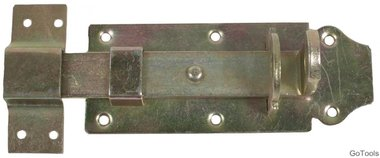 Lock Bolt with Strap, 125 x 50 mm