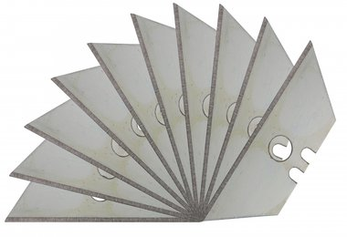 10-piece Replacement Blades for Safety Knife BGS 50603