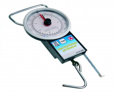 Luggage Scale with Measuring Tape, up to 32 kg