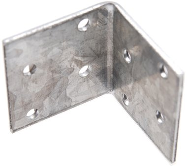 Angle Joint, 40x40x40x2 mm, galvanized