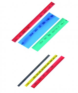 90-piece Shrink Tubing Assortment, colored
